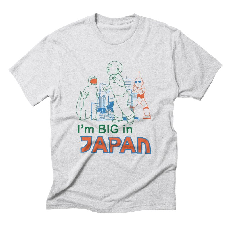 big in japan Men's Triblend T-Shirt by alexaustindesign's Artist Shop