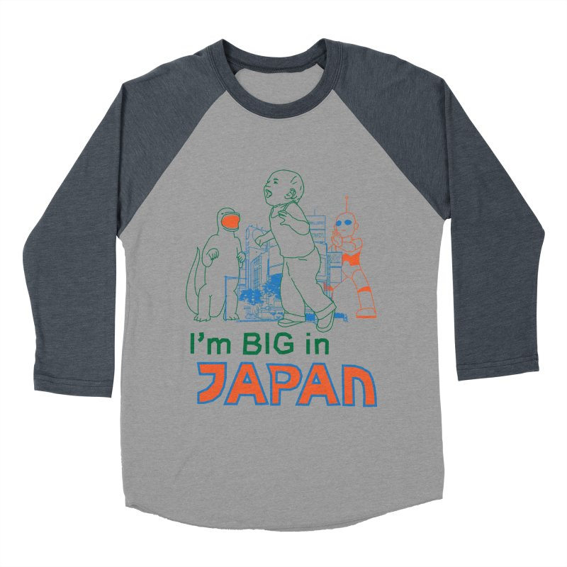 big in japan Women's Baseball Triblend Longsleeve T-Shirt by alexaustindesign's Artist Shop