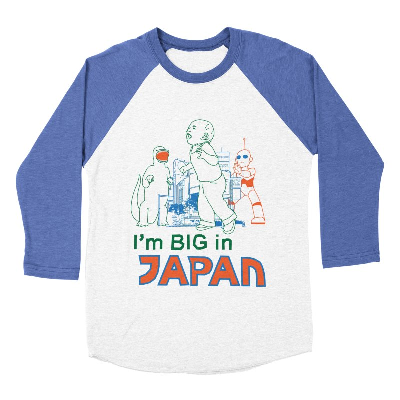big in japan Men's Baseball Triblend Longsleeve T-Shirt by alexaustindesign's Artist Shop