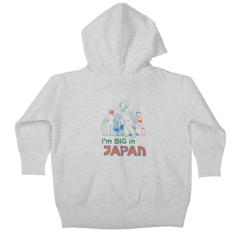 big in japan Kids Baby Zip-Up Hoody by alexaustindesign's Artist Shop