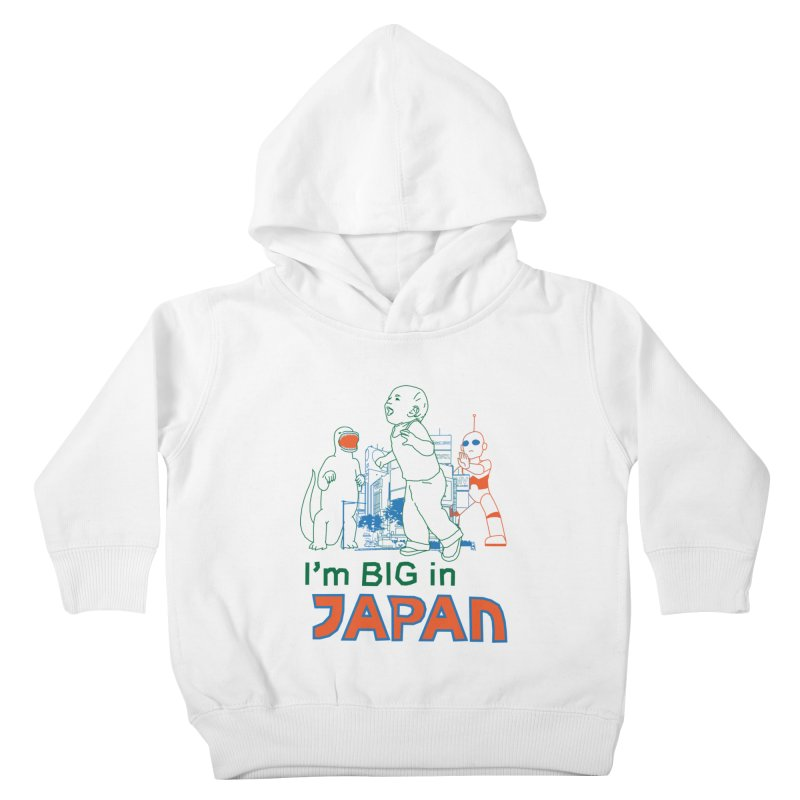 big in japan Kids Toddler Pullover Hoody by alexaustindesign's Artist Shop
