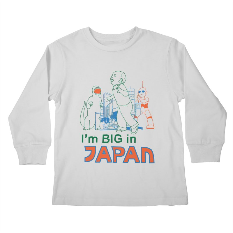 big in japan Kids Longsleeve T-Shirt by alexaustindesign's Artist Shop