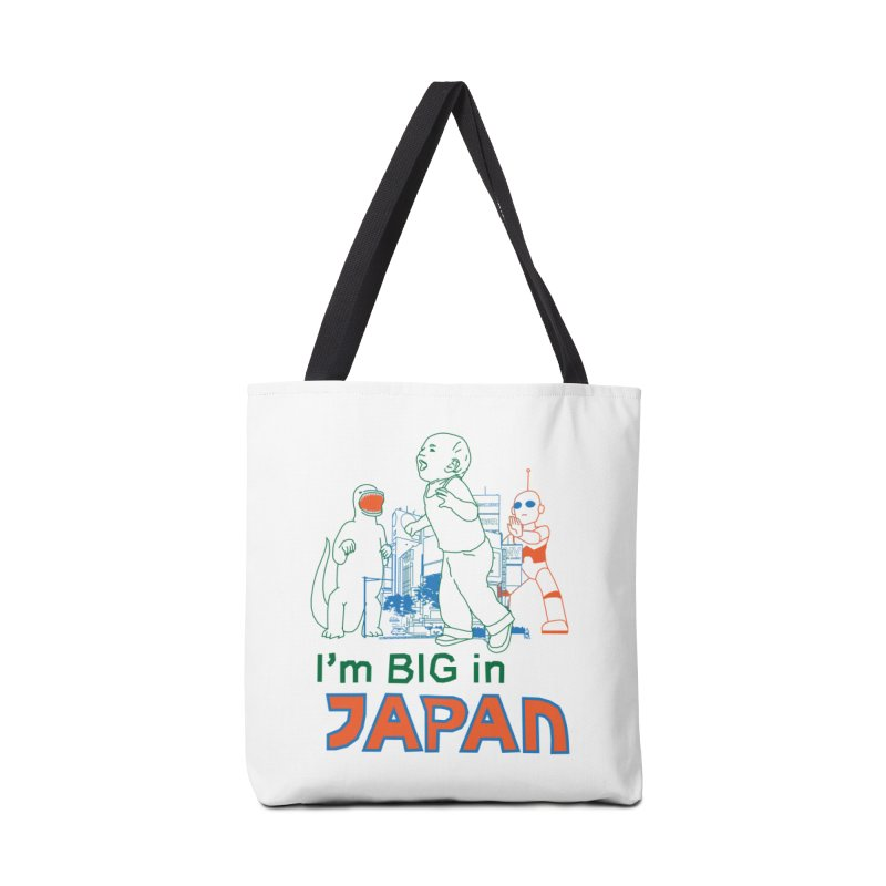 big in japan Accessories Tote Bag Bag by alexaustindesign's Artist Shop