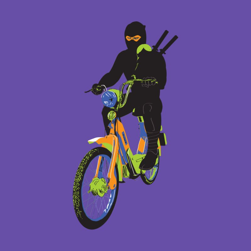 moped ninja   by alexaustindesign's Artist Shop