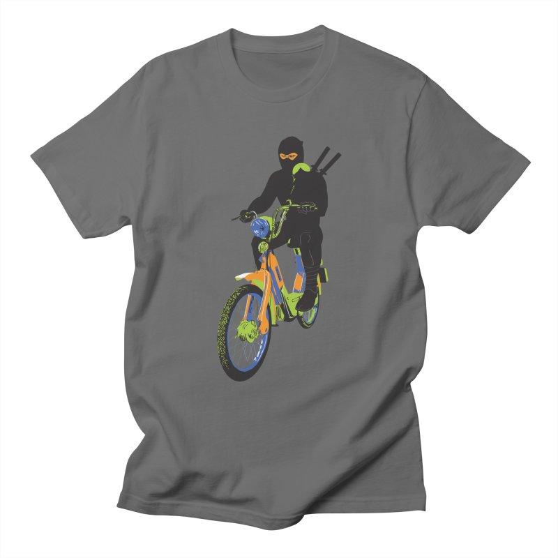 The Moped Ninja Men's T-Shirt by Alex Austin Design Shop