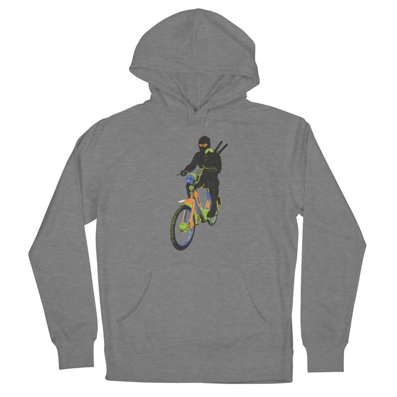 moped ninja Women's Pullover Hoody by alexaustindesign's Artist Shop