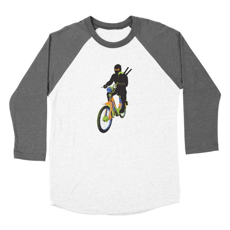 The Moped Ninja Women's Longsleeve T-Shirt by Alex Austin Design Shop