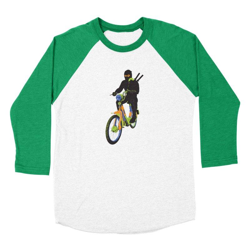 The Moped Ninja Men's Longsleeve T-Shirt by Alex Austin Design Shop