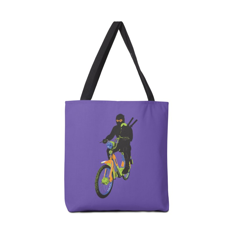 moped ninja Accessories Tote Bag Bag by alexaustindesign's Artist Shop