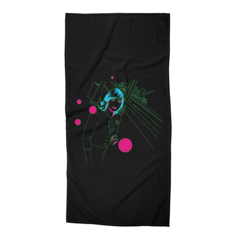 hollywood stroll Accessories Beach Towel by alexaustindesign's Artist Shop