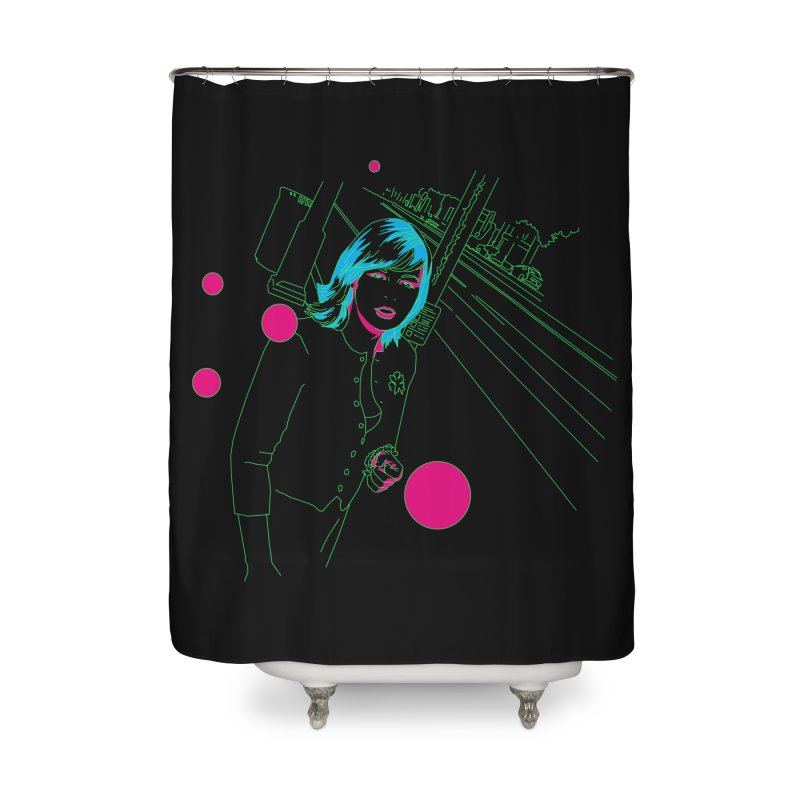 hollywood stroll Home Shower Curtain by alexaustindesign's Artist Shop