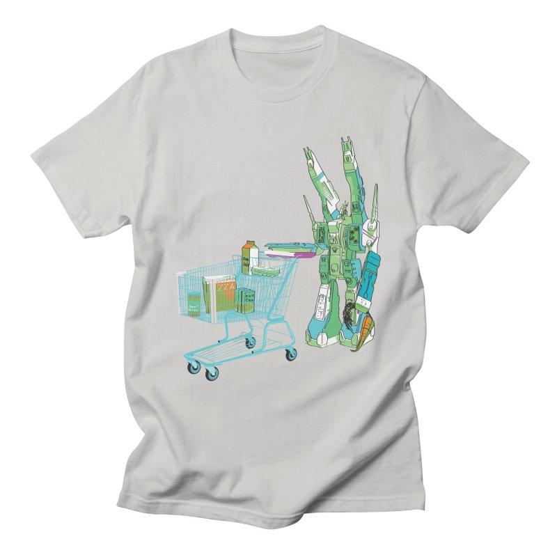 Super Dimensional Fortresses Are People Too Men's T-Shirt by Alex Austin Design Shop