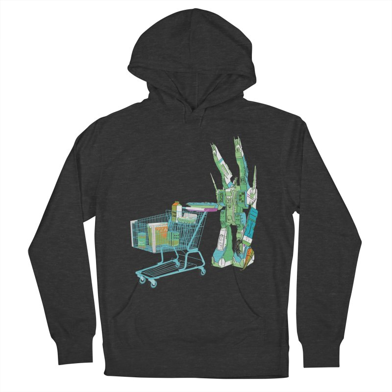 super dimensional fortresses are people too Men's French Terry Pullover Hoody by alexaustindesign's Artist Shop