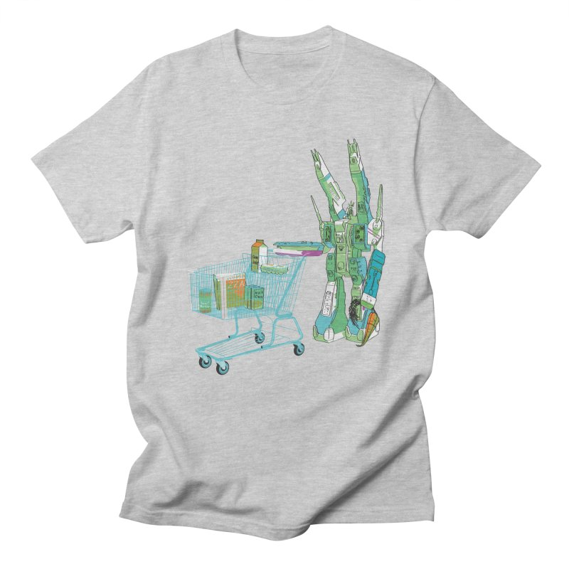 super dimensional fortresses are people too Men's Regular T-Shirt by alexaustindesign's Artist Shop
