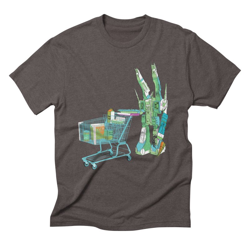 super dimensional fortresses are people too Men's Triblend T-Shirt by alexaustindesign's Artist Shop