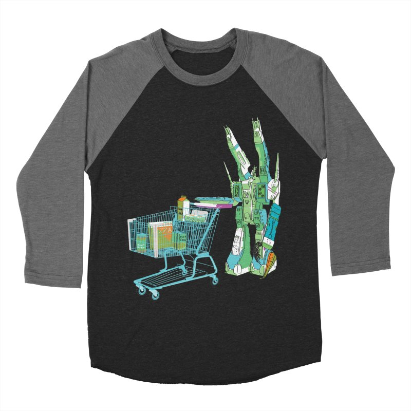 super dimensional fortresses are people too Men's Baseball Triblend Longsleeve T-Shirt by alexaustindesign's Artist Shop