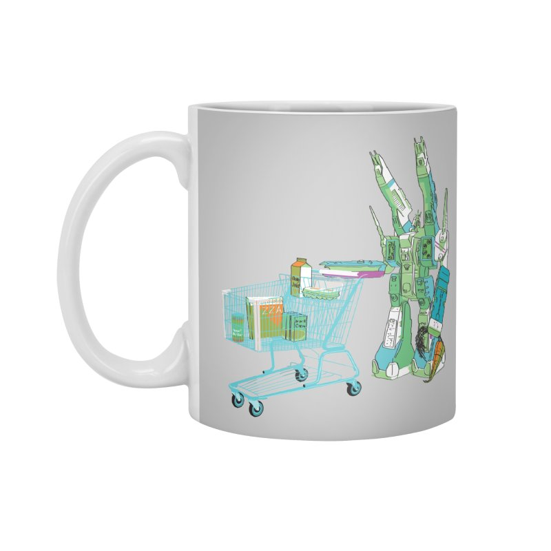 super dimensional fortresses are people too Accessories Mug by alexaustindesign's Artist Shop