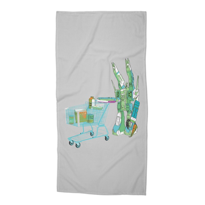 super dimensional fortresses are people too Accessories Beach Towel by alexaustindesign's Artist Shop