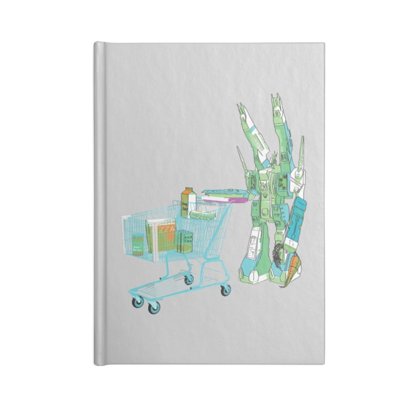 Super Dimensional Fortresses Are People Too Accessories Notebook by Alex Austin Design Shop