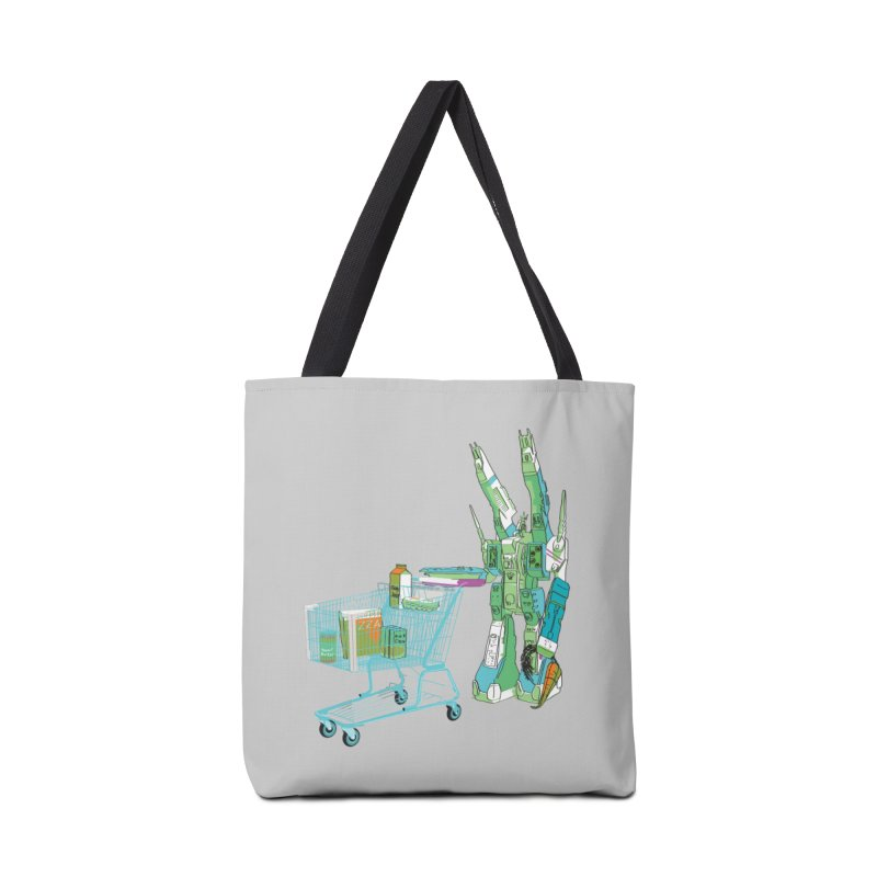 super dimensional fortresses are people too Accessories Tote Bag Bag by alexaustindesign's Artist Shop