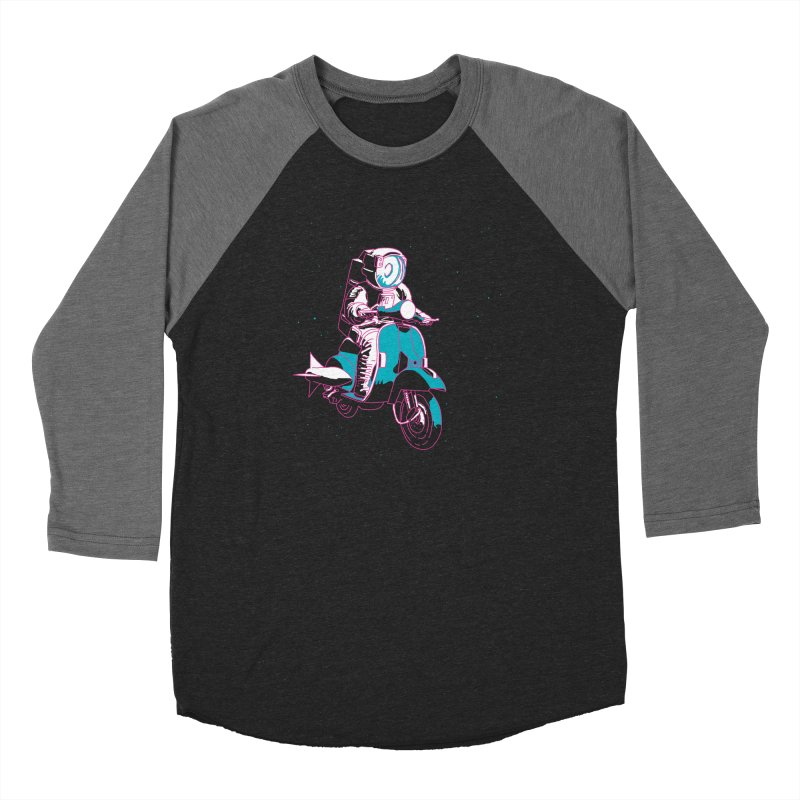 The Vespanaut Men's Longsleeve T-Shirt by Alex Austin Design Shop