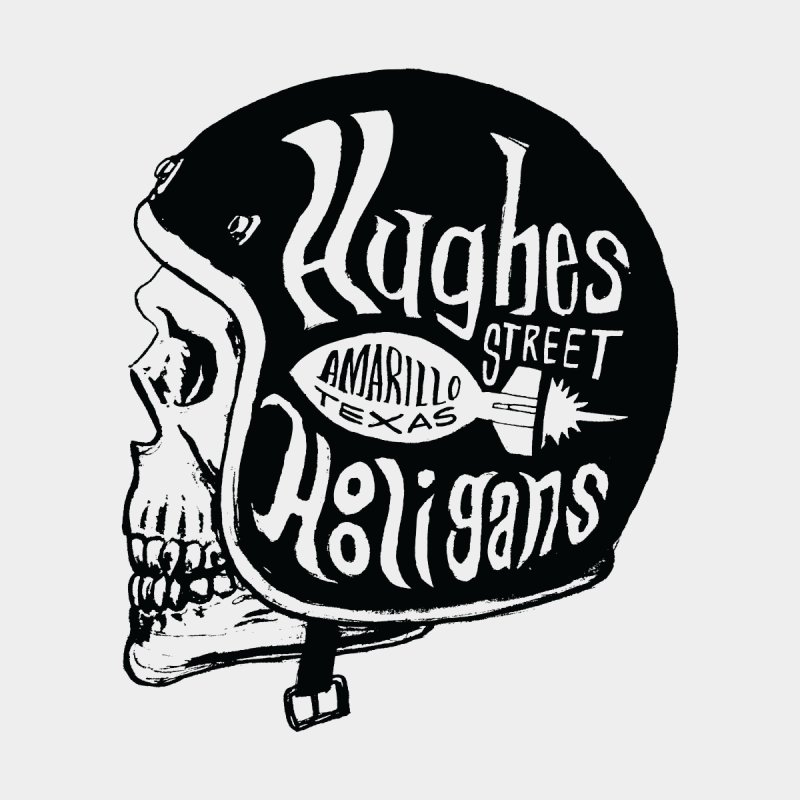Hughes Street Hooligans – Black / Gray by alexaustindesign's Artist Shop