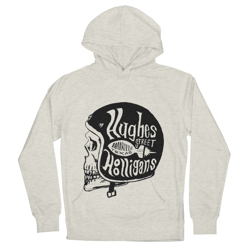 Hughes Street Hooligans – Black / Gray Women's French Terry Pullover Hoody by alexaustindesign's Artist Shop