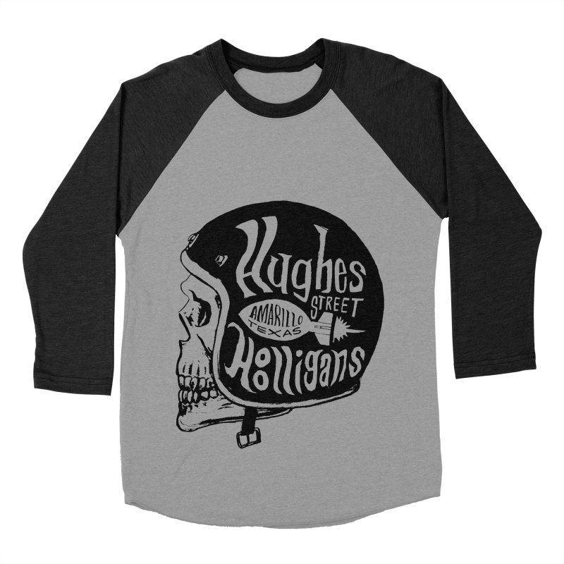 Hughes Street Hooligans – Black / Gray Women's Baseball Triblend Longsleeve T-Shirt by alexaustindesign's Artist Shop