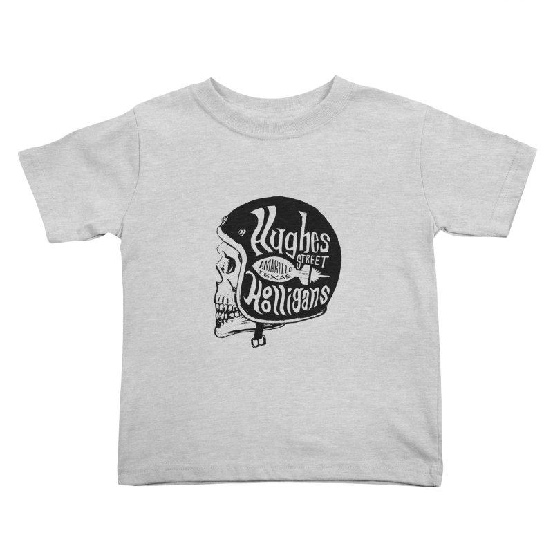 Hughes Street Hooligans – Black / Gray Kids Toddler T-Shirt by alexaustindesign's Artist Shop