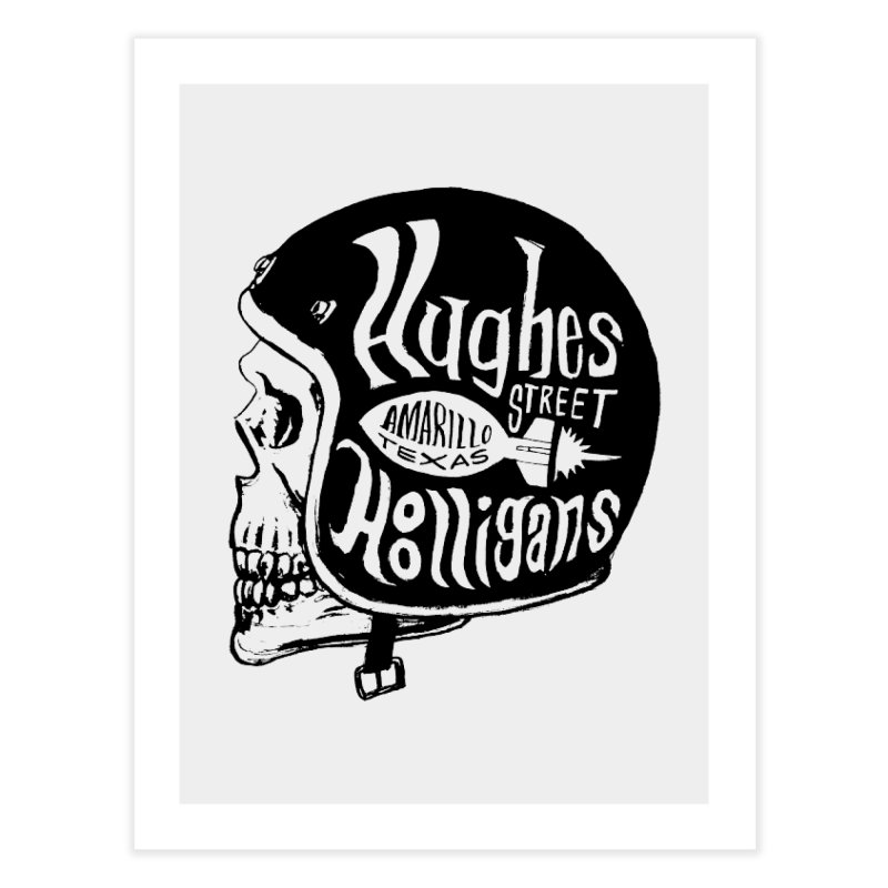 Hughes Street Hooligans – Black / Gray Home Fine Art Print by alexaustindesign's Artist Shop
