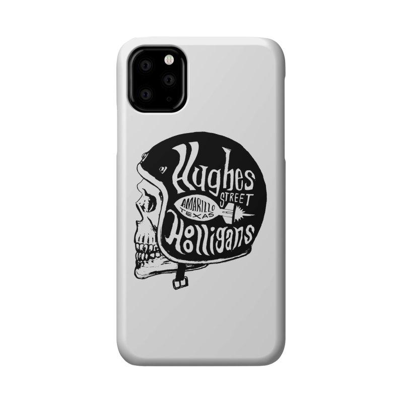 Hughes Street Hooligans – Black / Gray Accessories Phone Case by alexaustindesign's Artist Shop