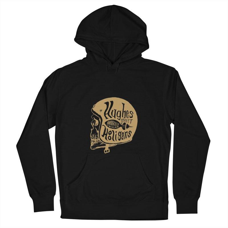 Hughes Street Hooligans – Gold / Black Women's Pullover Hoody by alexaustindesign's Artist Shop