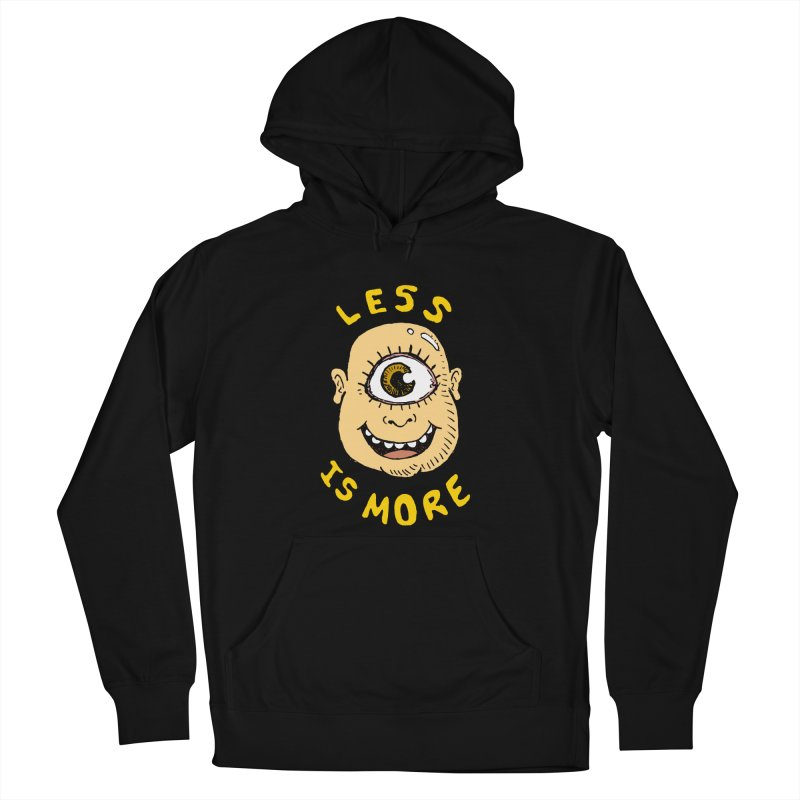Less is more Men's Pullover Hoody by alexcortez's Artist Shop