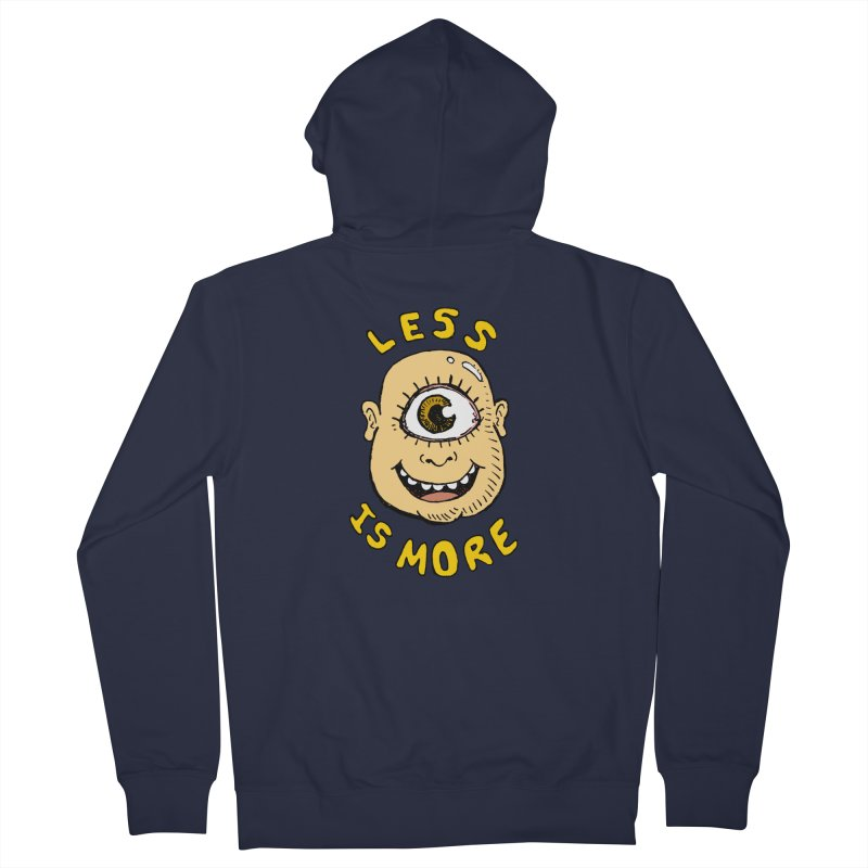 Less is more Women's Zip-Up Hoody by alexcortez's Artist Shop