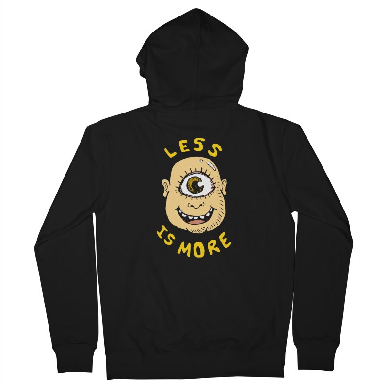 Less is more Men's Zip-Up Hoody by alexcortez's Artist Shop
