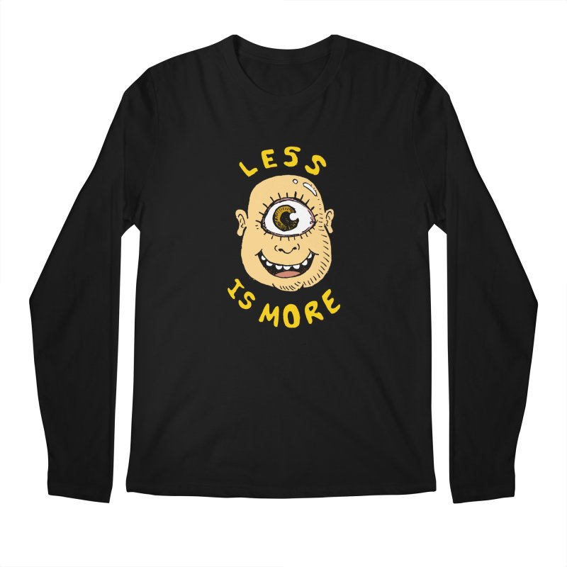 Less is more Men's Longsleeve T-Shirt by alexcortez's Artist Shop