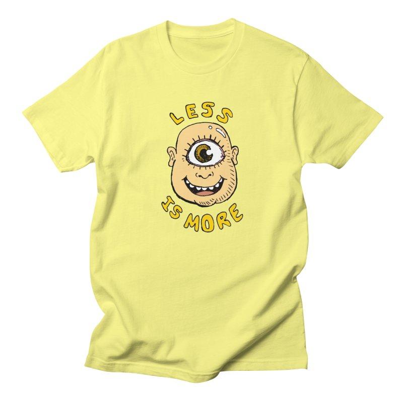Less is more Men's T-shirt by alexcortez's Artist Shop