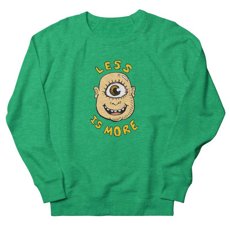 Less is more Men's Sweatshirt by alexcortez's Artist Shop