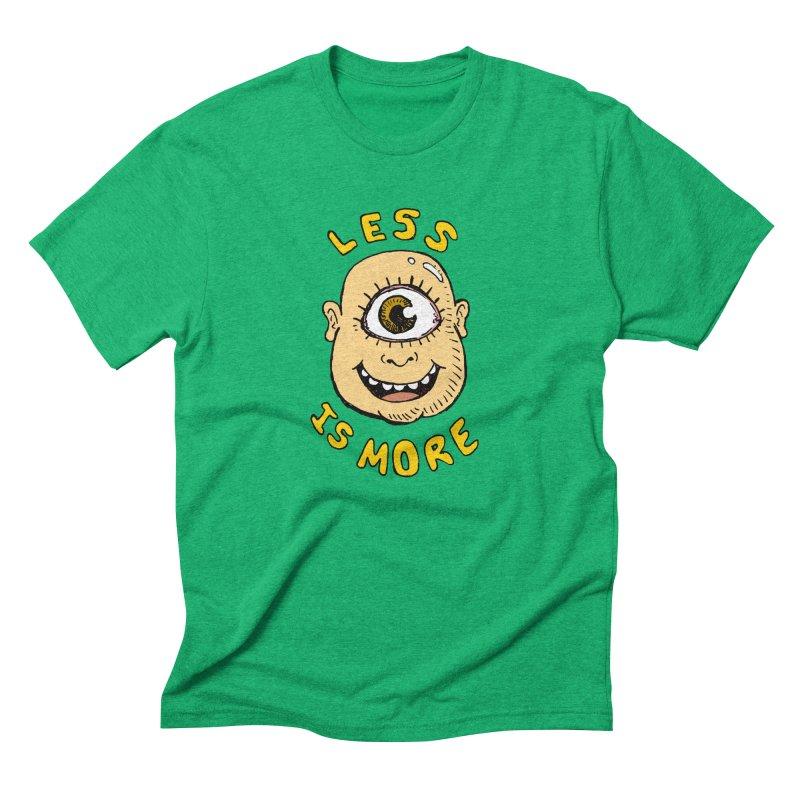 Less is more Men's Triblend T-Shirt by alexcortez's Artist Shop