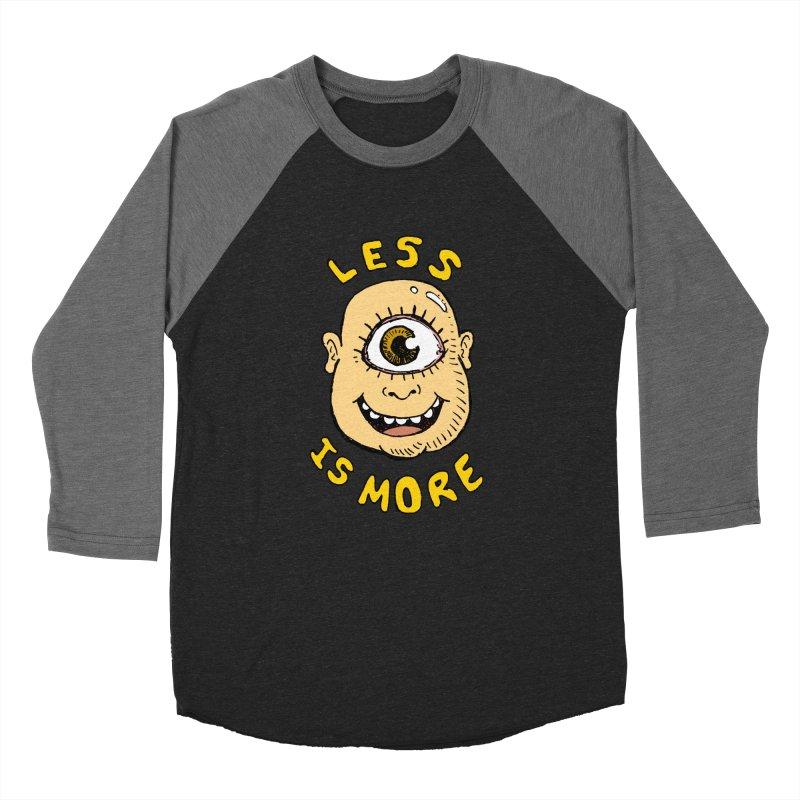 Less is more Women's Baseball Triblend T-Shirt by alexcortez's Artist Shop