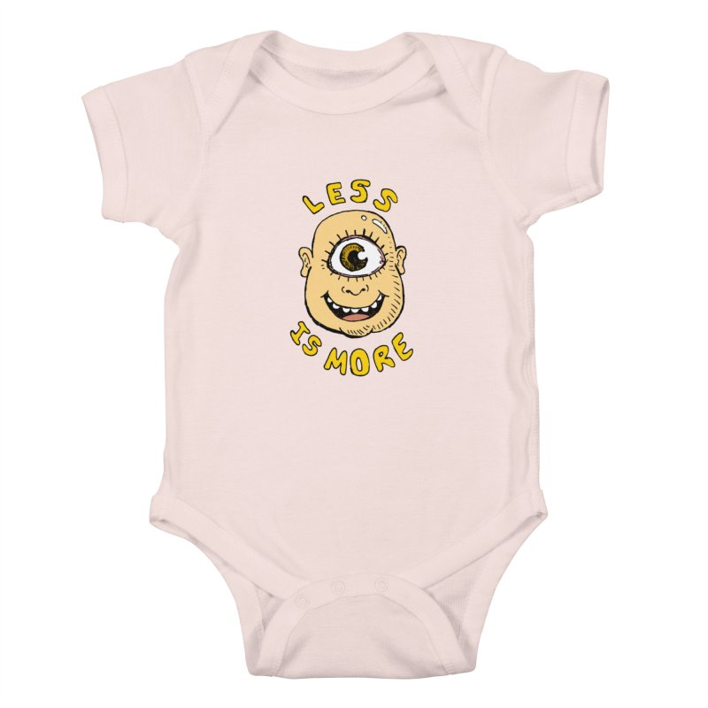 Less is more Kids Baby Bodysuit by alexcortez's Artist Shop