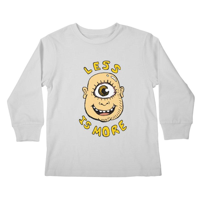 Less is more Kids Longsleeve T-Shirt by alexcortez's Artist Shop