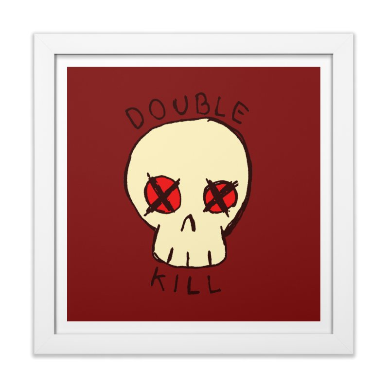 Double Kill Home Framed Fine Art Print by alexcortez's Artist Shop