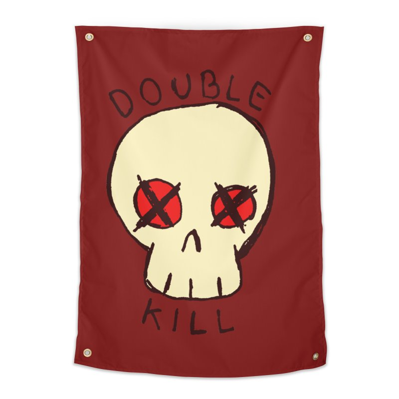 Double Kill Home Tapestry by alexcortez's Artist Shop