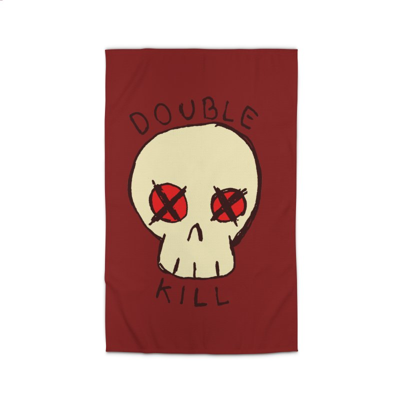 Double Kill Home Rug by alexcortez's Artist Shop