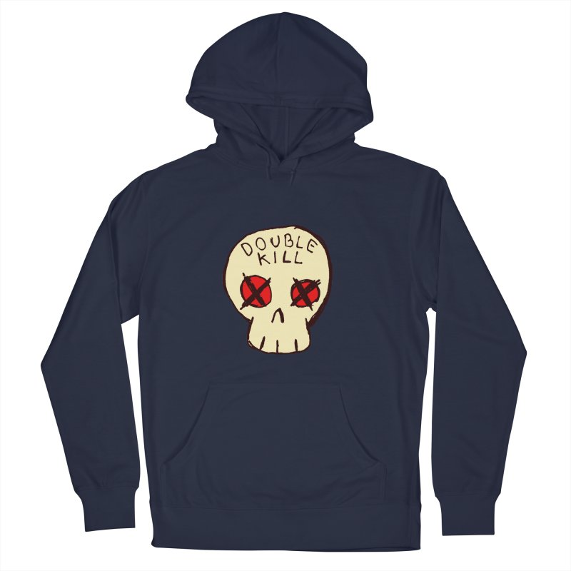 Double Kill Men's Pullover Hoody by alexcortez's Artist Shop