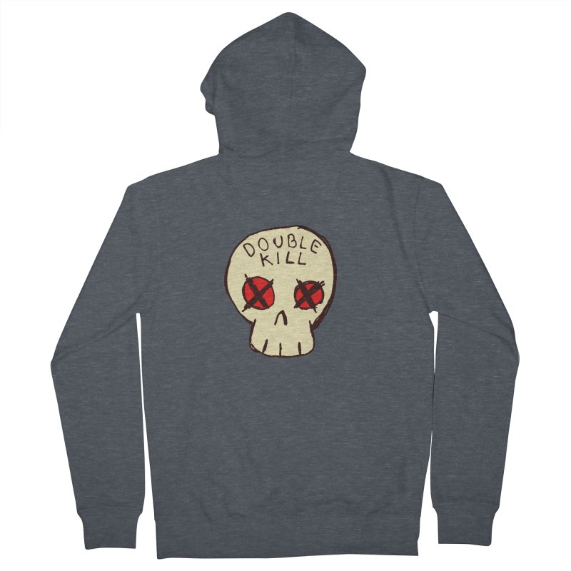 Double Kill Women's Zip-Up Hoody by alexcortez's Artist Shop