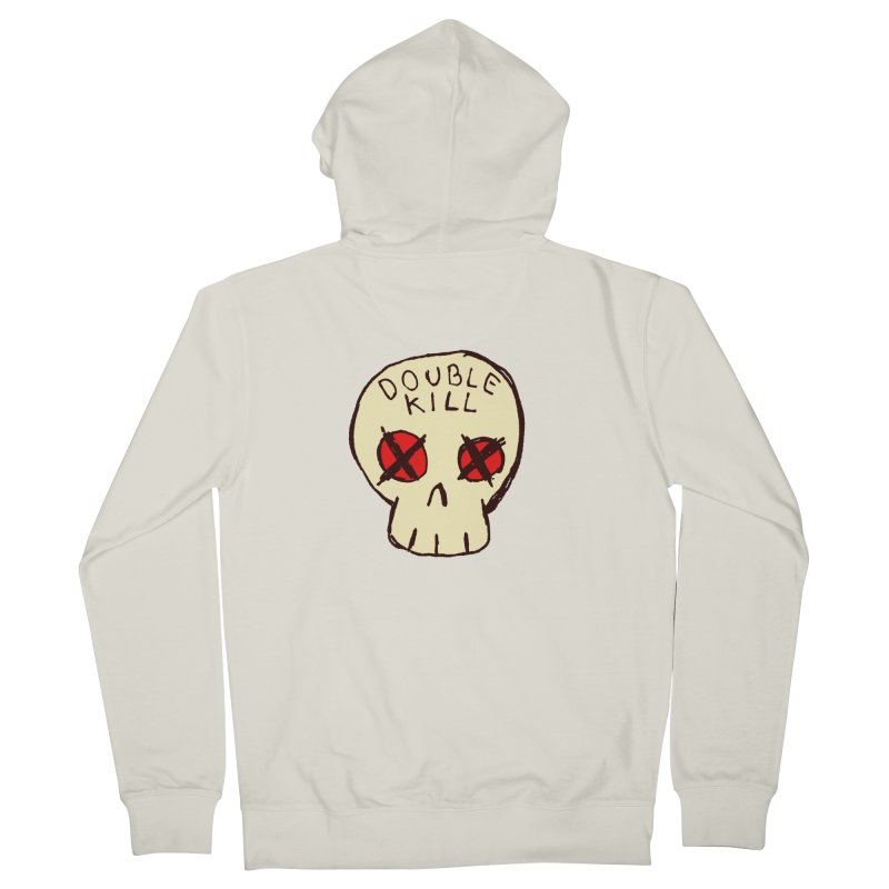Double Kill Men's Zip-Up Hoody by alexcortez's Artist Shop