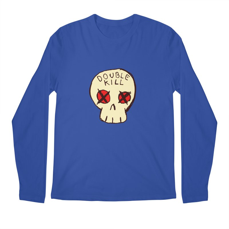 Double Kill Men's Longsleeve T-Shirt by alexcortez's Artist Shop