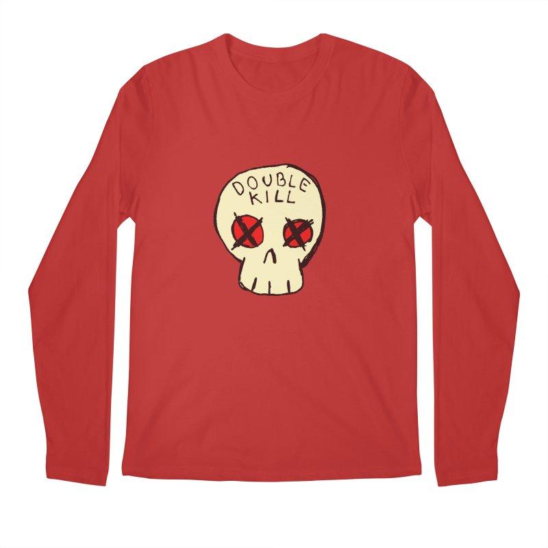 Double Kill Men's Longsleeve T-Shirt by alexcortez's Artist Shop